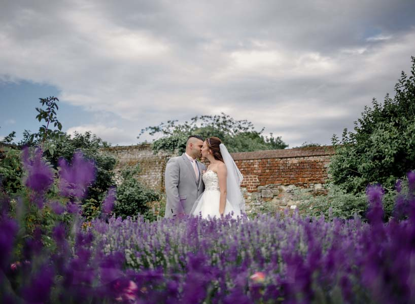 wedding photography enfield north London couple kissing