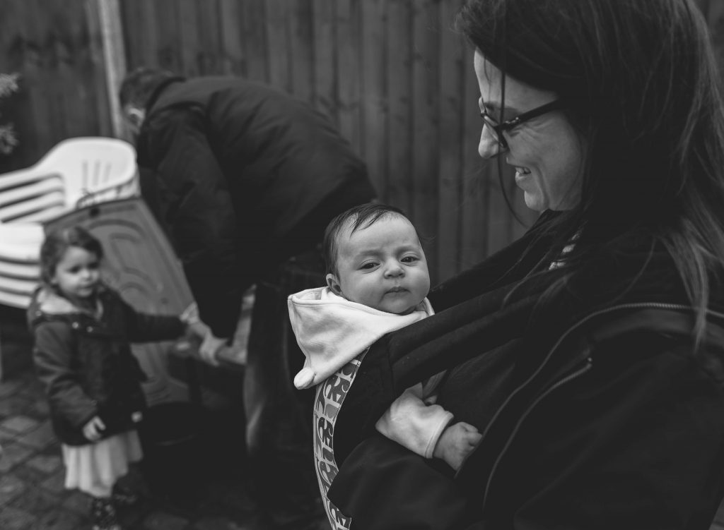 Bringing your Newborn Baby home photography in Enfield, North London