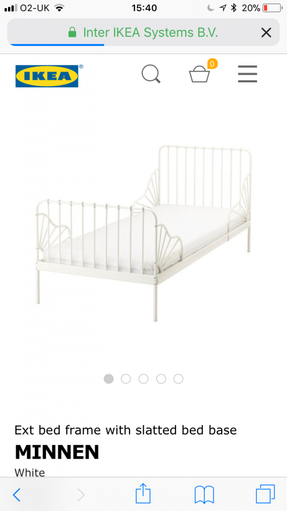ikea bed extendable for toddler room girl