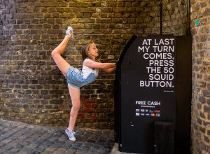 Gymnastics Dancing in the streets of Camden London family Enfield Photographer