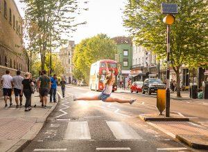 dancing in London streets