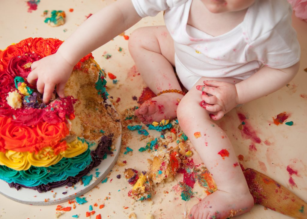 Cake smash Photographer London Enfield
