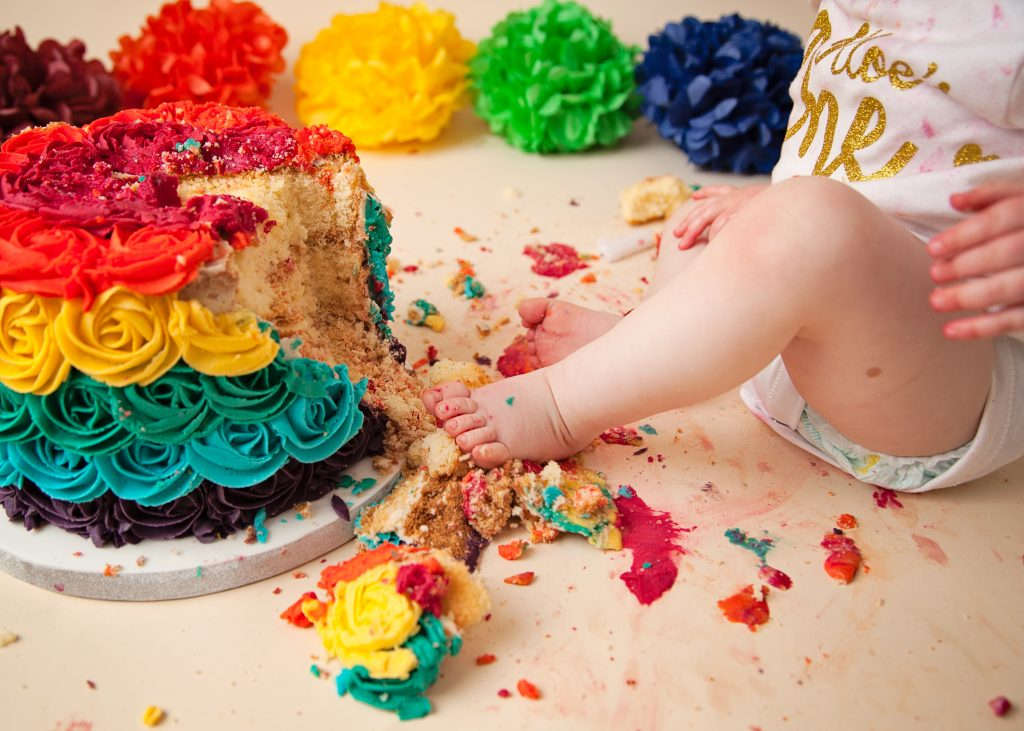 Cake smash Photographer Enfield